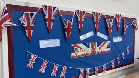 British Values Display