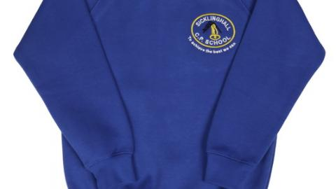 Blue School Jumper